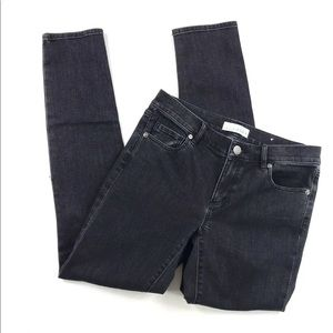 Ann Taylor LOFT Modern Skinny Jeans Distressed 2